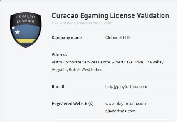 curasao-casino licence